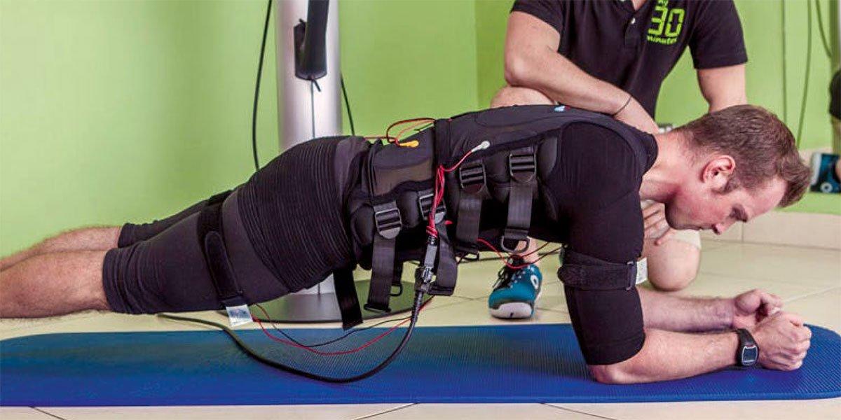 EMS Whole Body: effetti indotti sulla forza esplosiva, forza resistente e composizione corporea